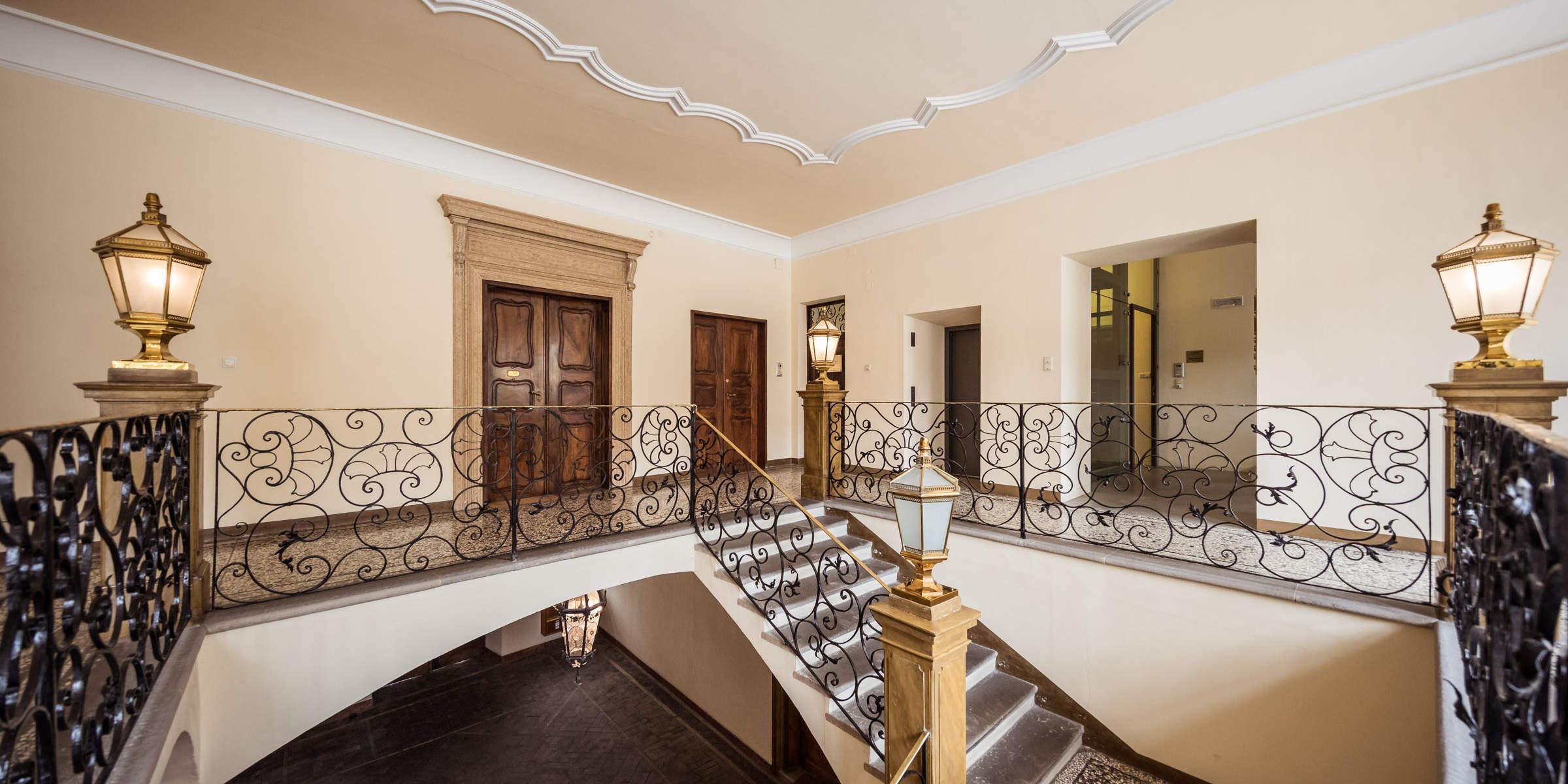 Eingangsbereich der Kanzlei für Mergers & Aquisitions M&A