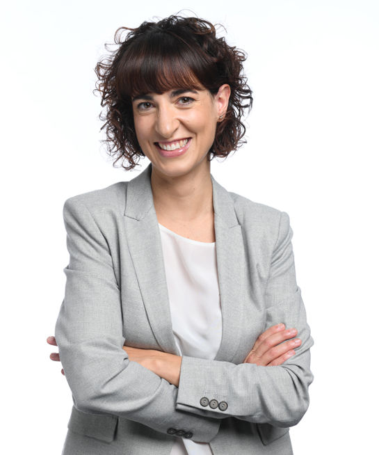 Portrait Lawyer Dr. Silvia Muttoni