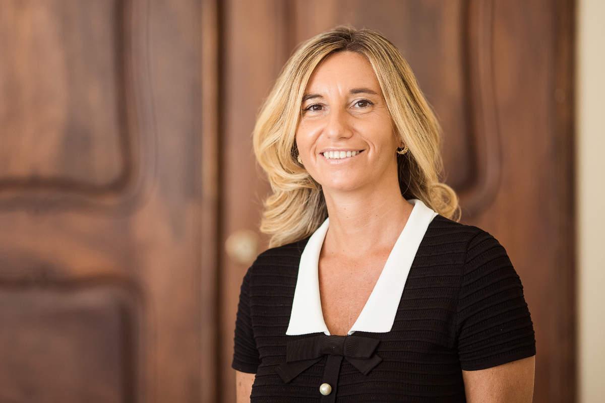Portrait von Rechtsanwältin Carola Pagliarin in der Kanzlei