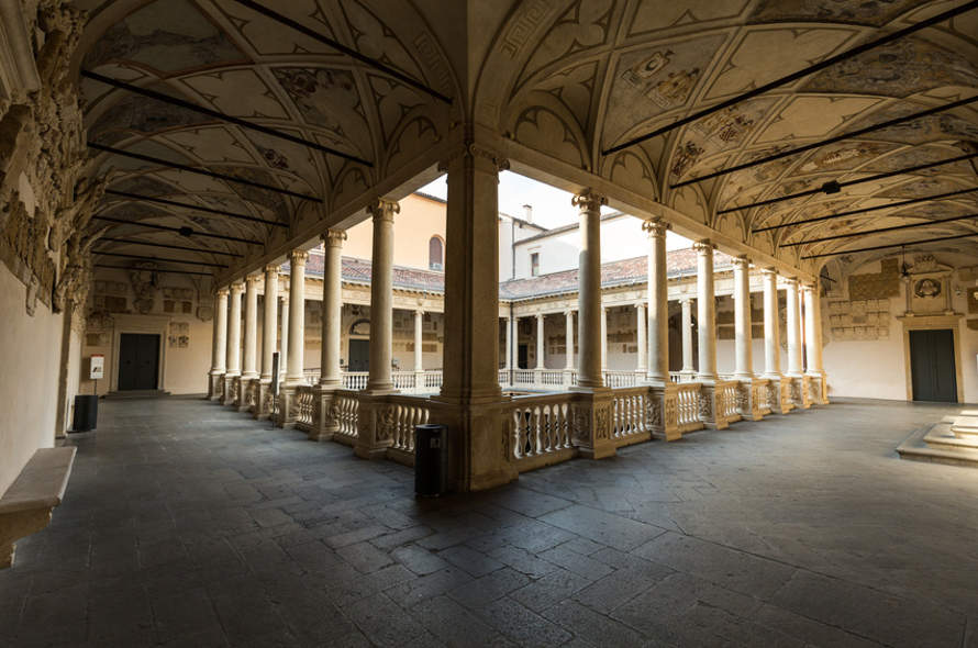 Palazzo Bo, historischer Gebäudeteil der Universität Padua